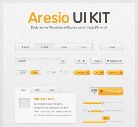 DBE2BFPUKTWD01_thumb 40+ PSD UI Kits for Web Designers