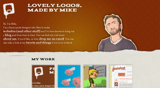 Hand Drawn Websites