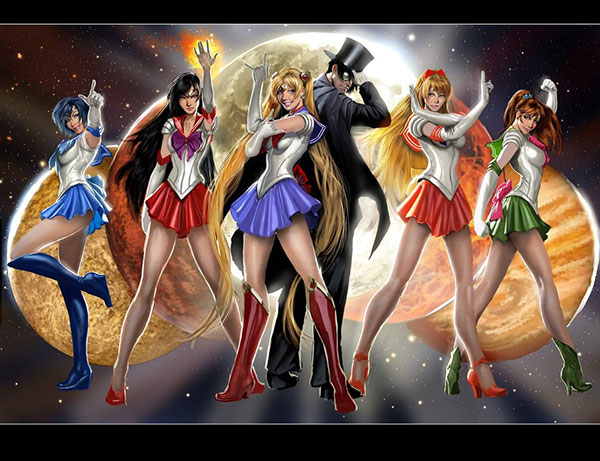 sailor moon.... go figure