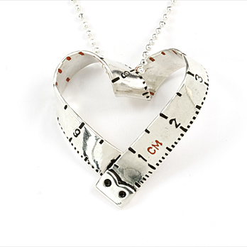 i-heart necklace