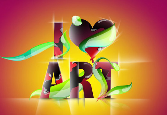 08-colorful-typography 40 Amazing Examples of Colorful Typography