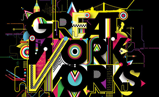 10-colorful-typography 40 Amazing Examples of Colorful Typography