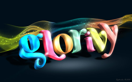16-colorful-typography 40 Amazing Examples of Colorful Typography