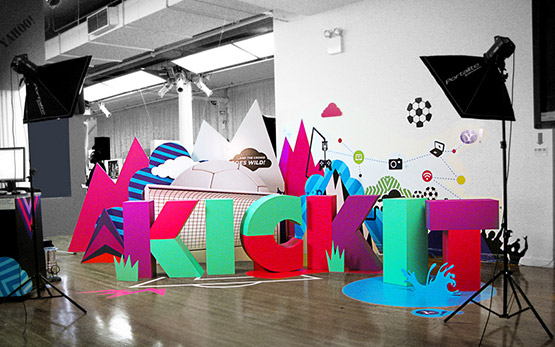 25-colorful-typography 40 Amazing Examples of Colorful Typography