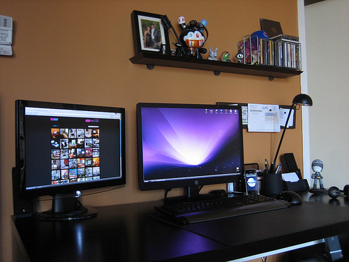 Home office updated