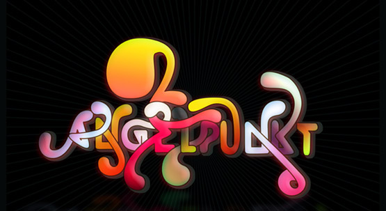 30-colorful-typography 40 Amazing Examples of Colorful Typography