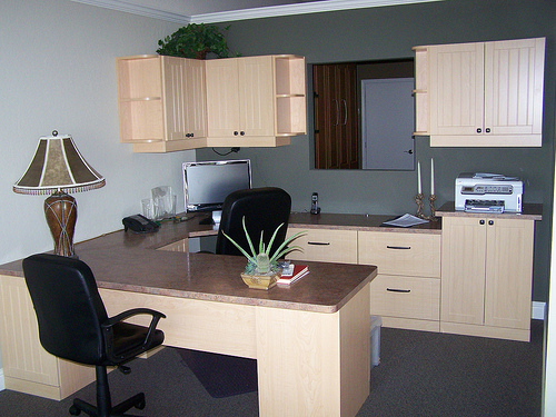 Home Office Furniture (Natural Maple)