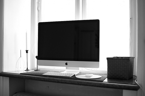 "Home Office 27"" iMac"