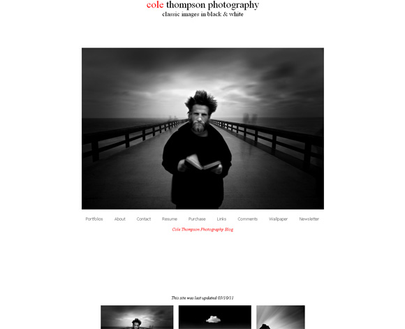 Black and White Portfolios