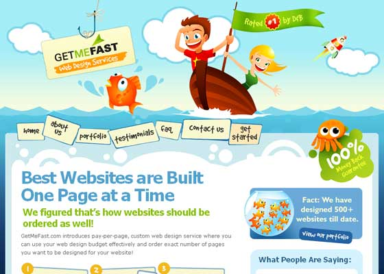 Illustrative Website Design Inspiration