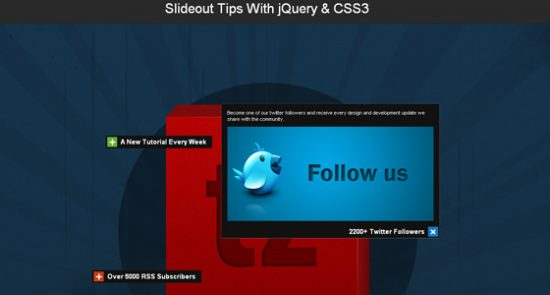Amazing and Advanced jQuery Effects