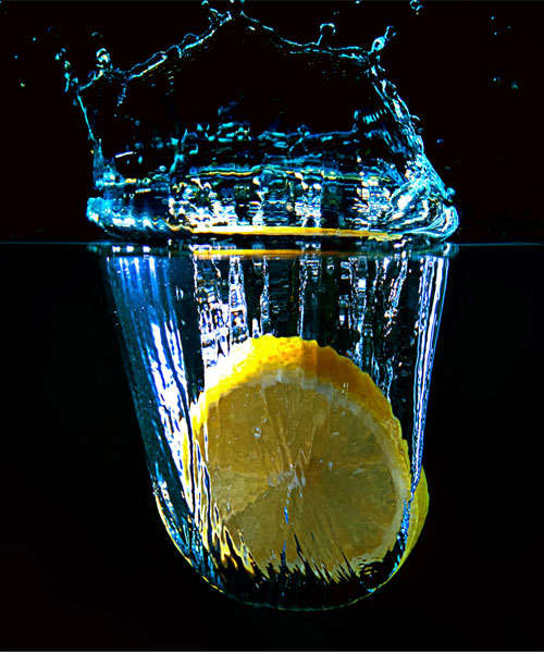lemon-drop High-Speed Photography: 30 Fascinating Photography