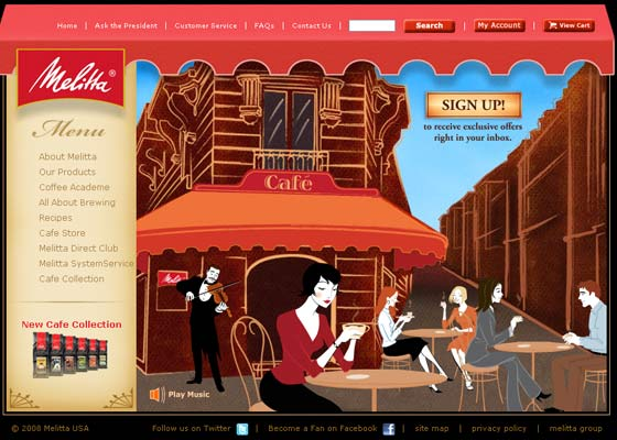 Red Webdesign Inspiration