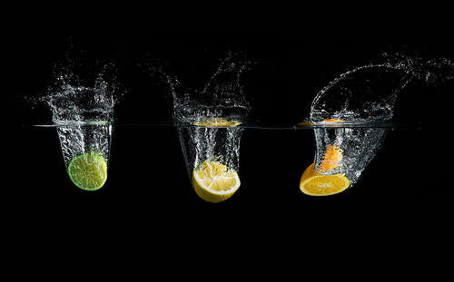 splash-en-trio High-Speed Photography: 30 Fascinating Photography