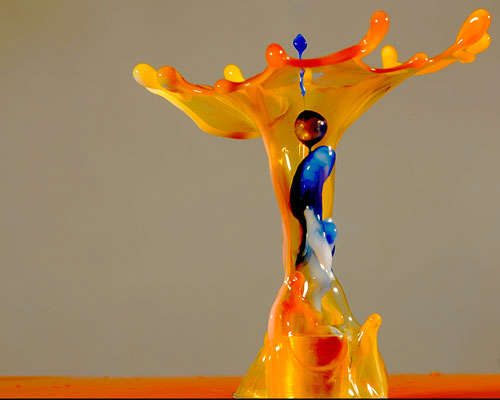 water-figure High-Speed Photography: 30 Fascinating Photography