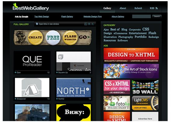 Web Design Galleries