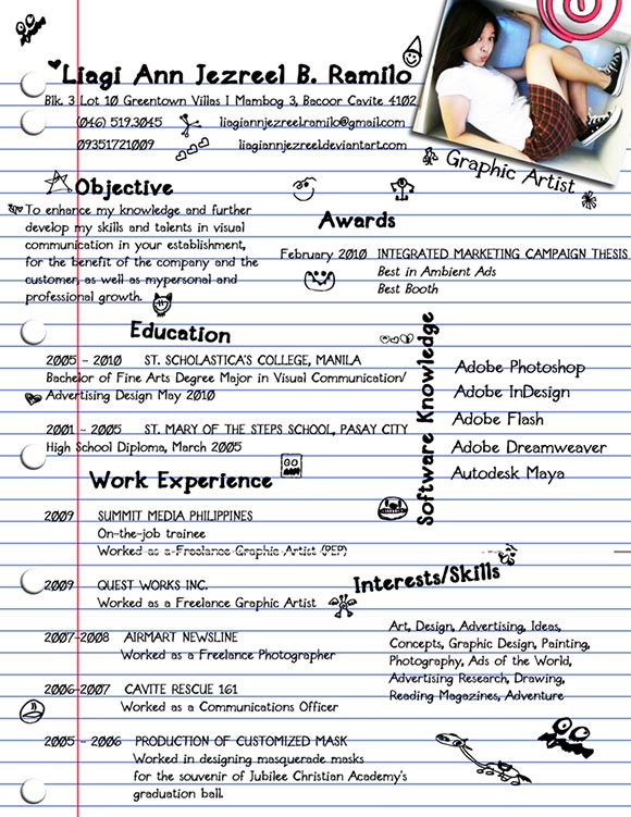 Example Bad Resume