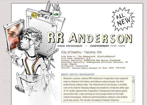 RBAnderson 40 Creatively Stunning and Eye-Catching Resumes