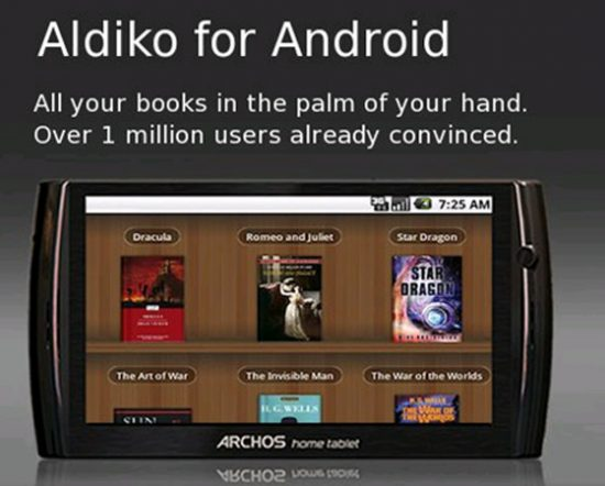 Android Ebook Readers