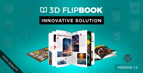 Interactive 3D FlipBook