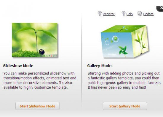 Wondershare Flash Gallery