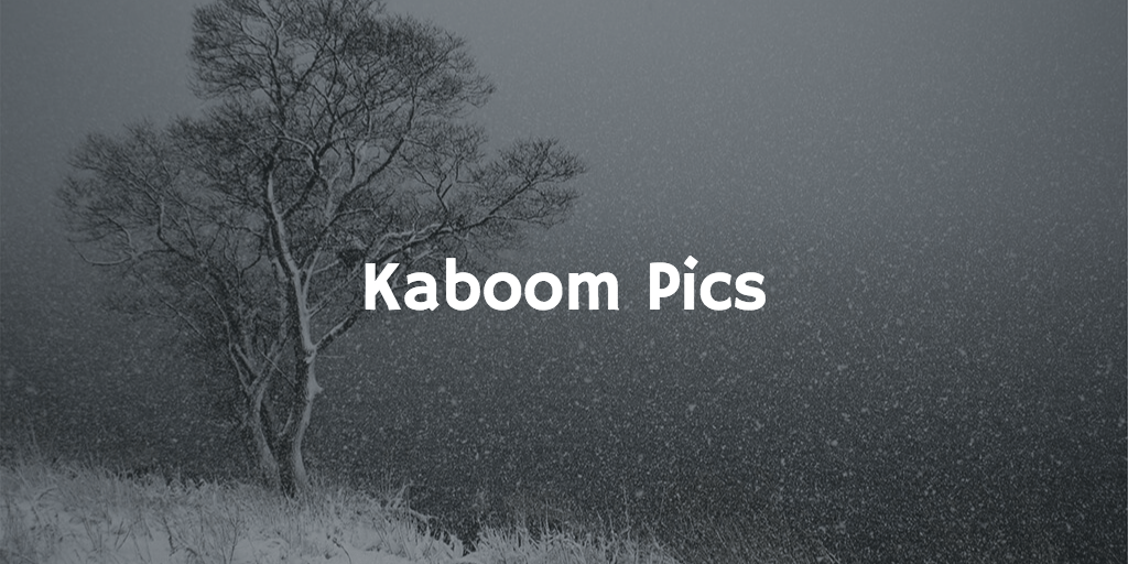 kaboom 13 Stock Photography Sites That Aren't Garbage