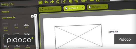 pidoco 15 Prototyping and Wireframing Tools for Designers