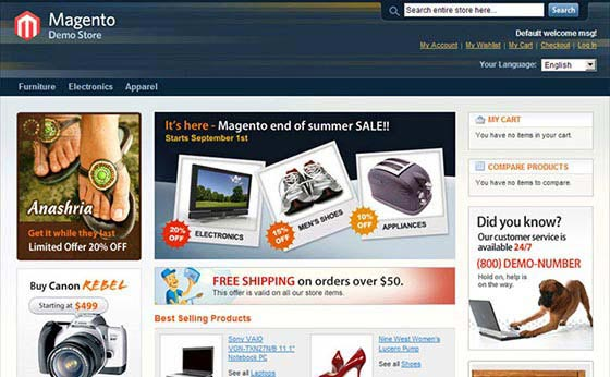 magentocommerce 23 the Best eCommerce platforms, CMS shopping carts & Multi-Vendor Scripts