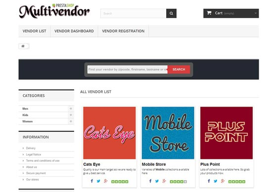 Prestashop Multi Vendor Marketplace