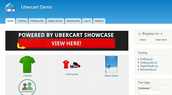 ubercart 23 the Best eCommerce platforms, CMS shopping carts & Multi-Vendor Scripts
