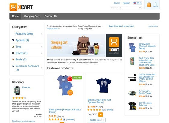 xcart 23 the Best eCommerce platforms, CMS shopping carts & Multi-Vendor Scripts