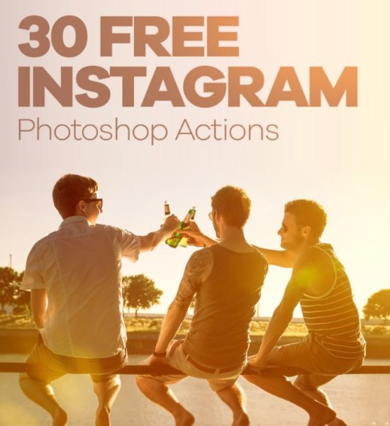 30 Free Instagram Photoshop Actions
