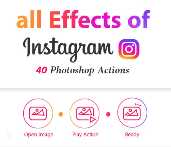 40 Photoshop Action