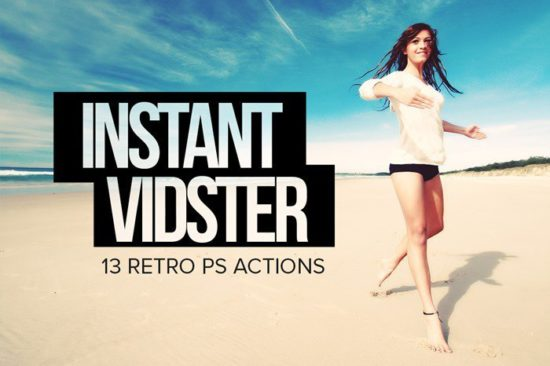 Instagram Video Photoshop Actions (Stinson, Vesper, etc)