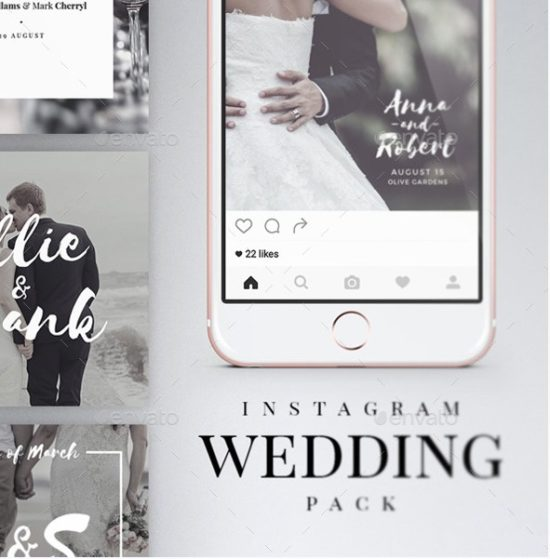 Instagram Wedding Pack