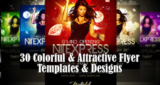 flyer design templates