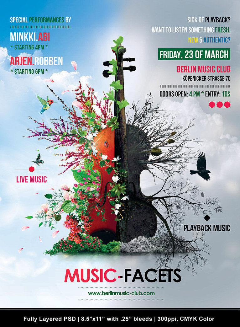 Music Facets Flyer
