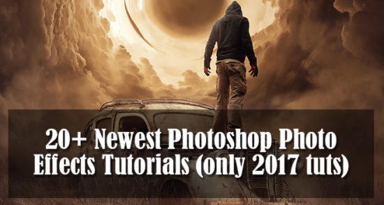 photo effects photoshop tutorials