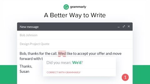 Grammarly for Grammar Mistakes