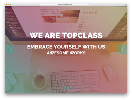 topclass-seo-optimized-landing-page