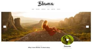 blanca website templates