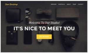 bootstrap template 1