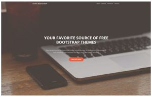 bootstrap template 2