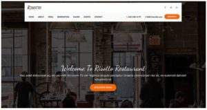 risotto website templates