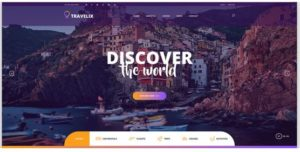 travelix website templates