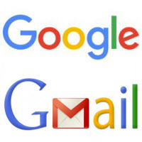 check default google and gmail account