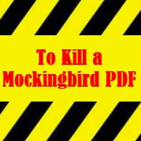 to kill a mockingbird pdf