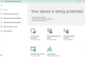 free antivirus for windows 10