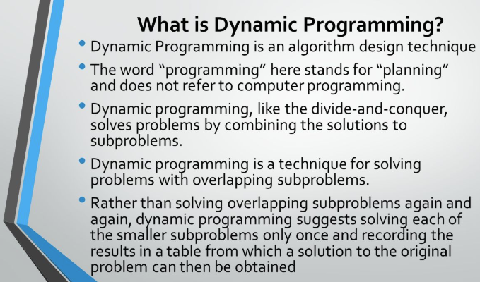 dynamic programming problems