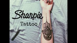 Sharpie Tattoo